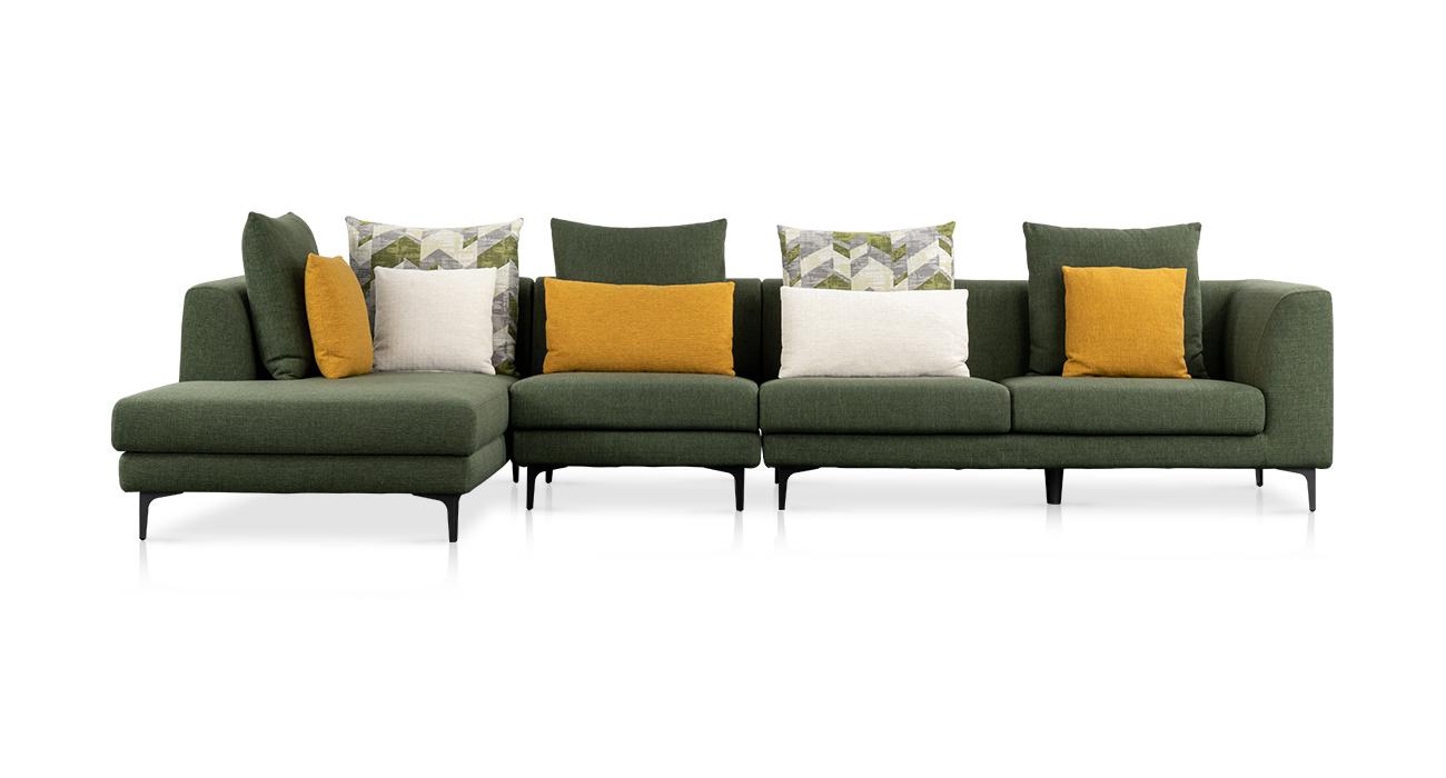 简约沙发丨进口棉麻+落叶松木