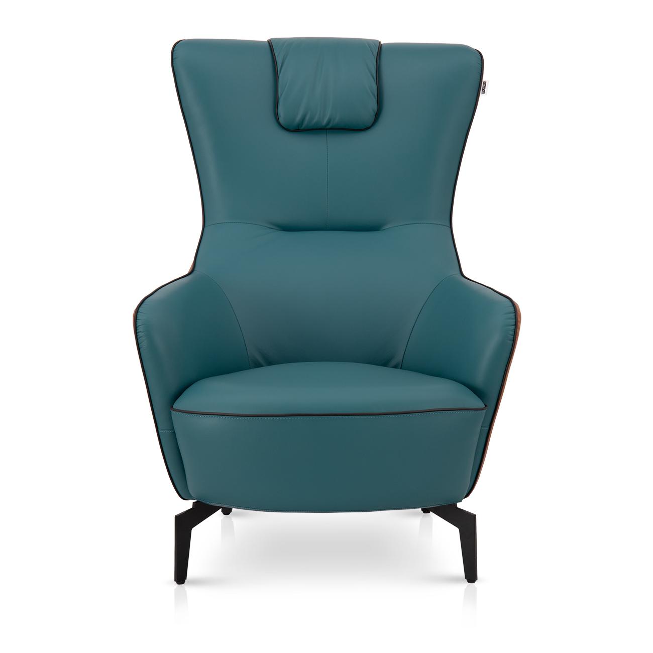 椅子   进口头层牛皮休闲椅