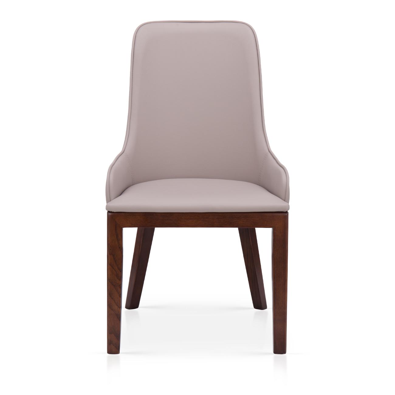 椅子   实木皮餐椅